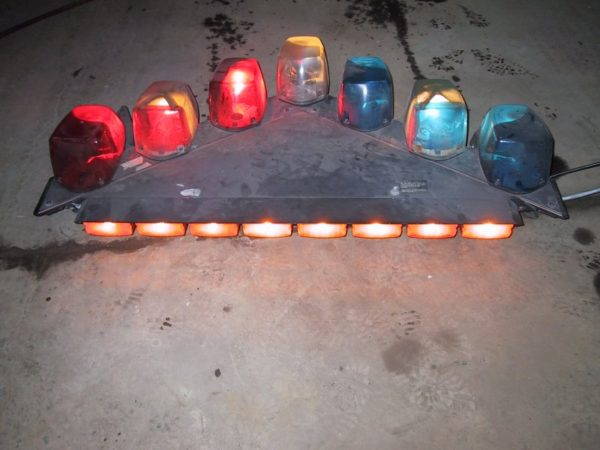 #14 – Vector Multi light bar with rear single lights