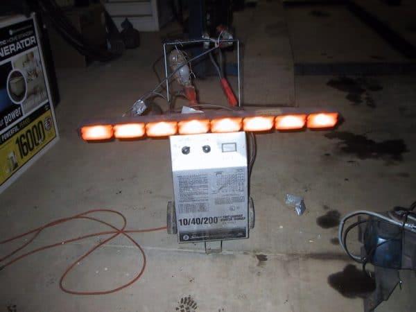 #15 – Vector amber  rear lights