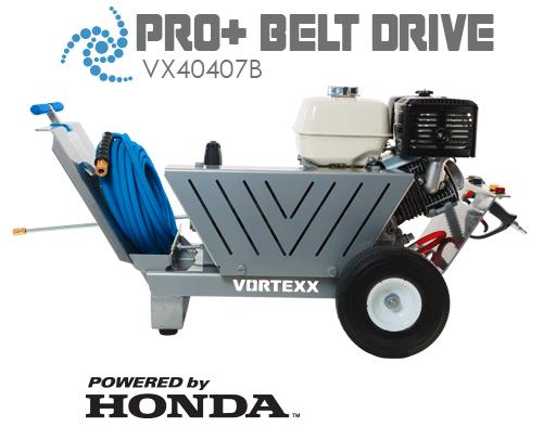 VX4047B Pro + Belt Drive