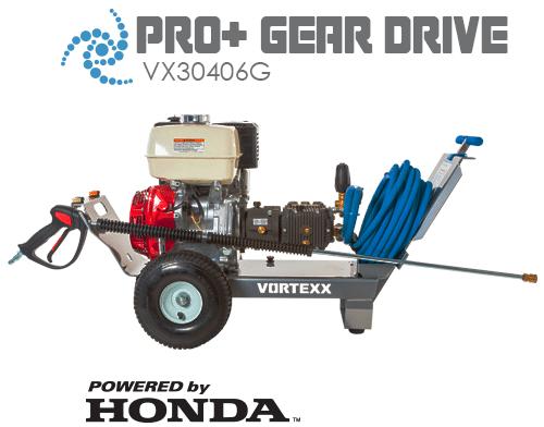 VX304406G Pro+ Gear Drive